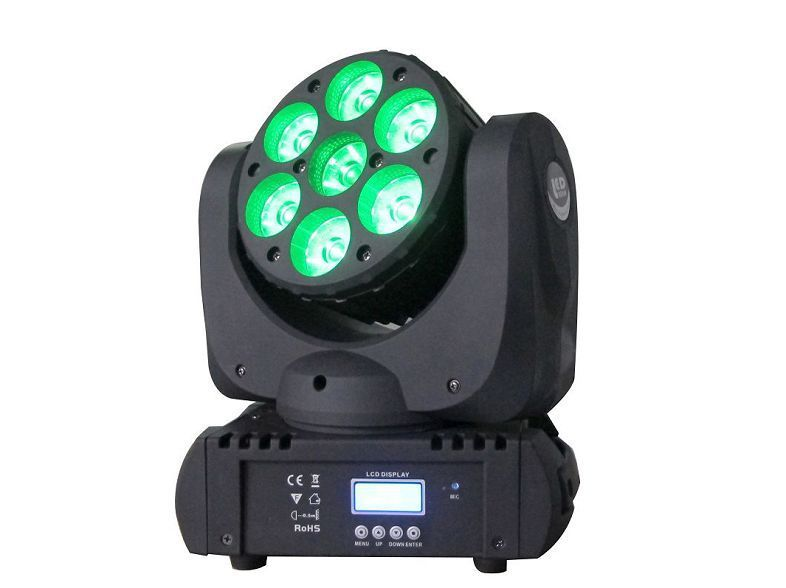 Moving Head Led Wash 7x12W Image