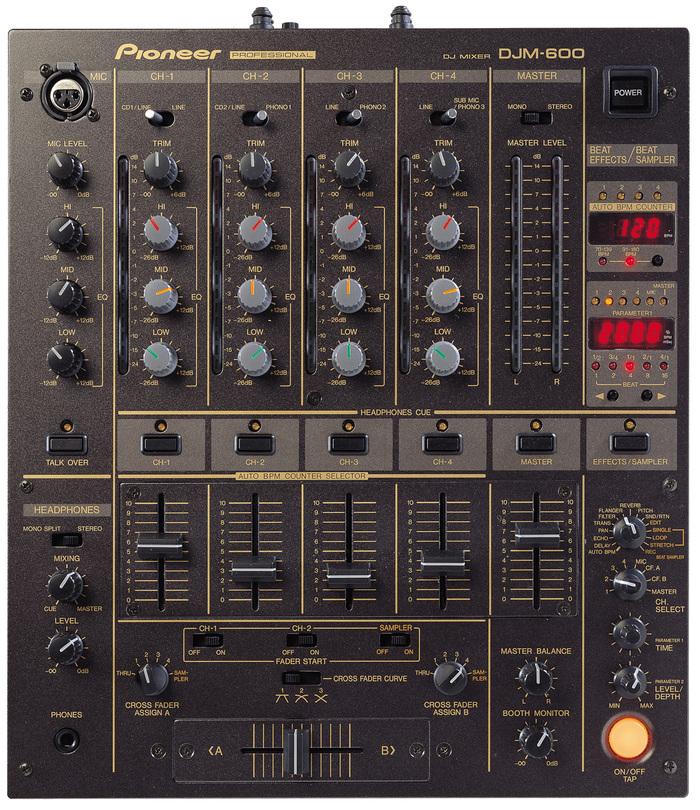 Pioneer DJM 600 Image